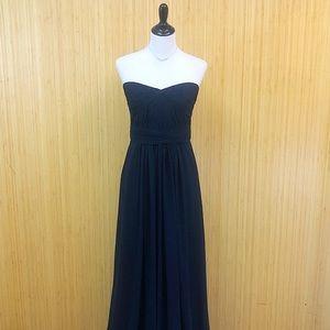 Monique Lhuillier Silk Formal Dress